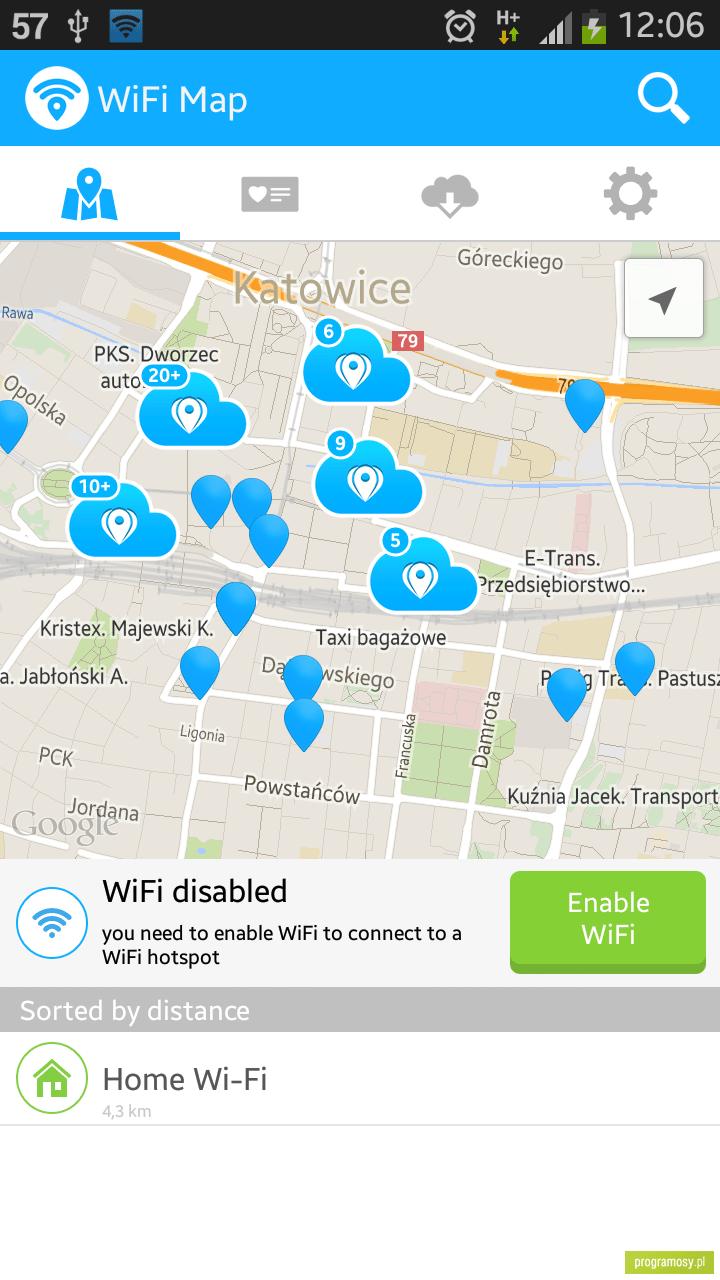 تحميل برنامج wifi map pro للكمبيوتر
