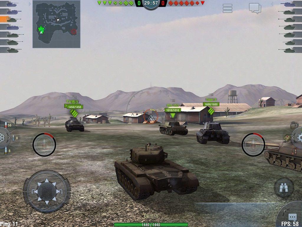 World-of-Tanks-Blitz تحميل ألعاب حرب وقتال مجانًا وبرابط مباشر تحميل العاب كمبيوتر