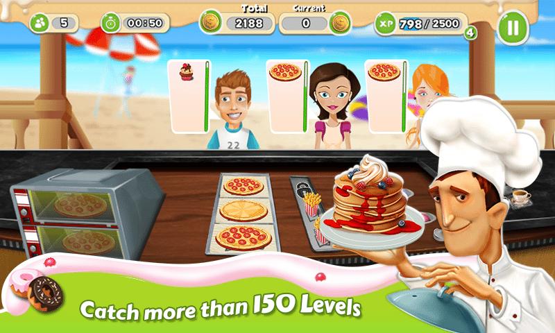 breakfast-cooking-mania تحميل العاب بنات تسوق ومكياج وطبخ مجاناً تحميل العاب كمبيوتر