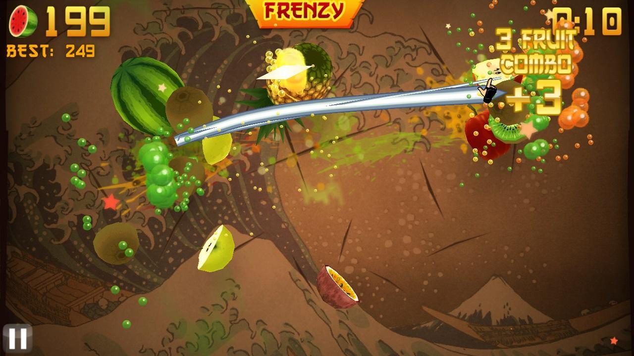 fruit-ninja2 لعبة تقطيع الفواكه Fruit Ninja 2017 العاب اندرويد