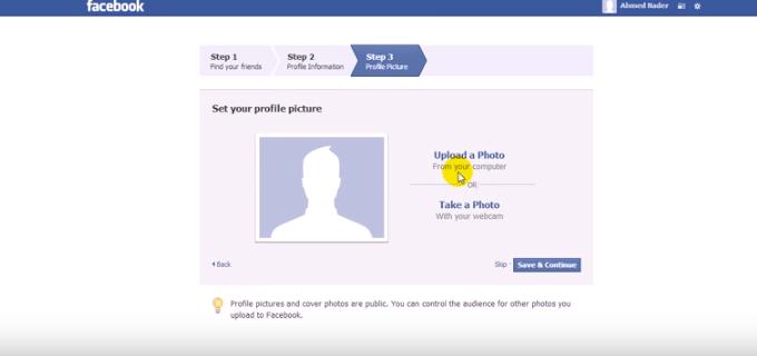 -السابعة-التسجيل-من-جديد-facebook تحميل برنامج Facebook مع شرح إمكانية عمل حساب جديد شروحات