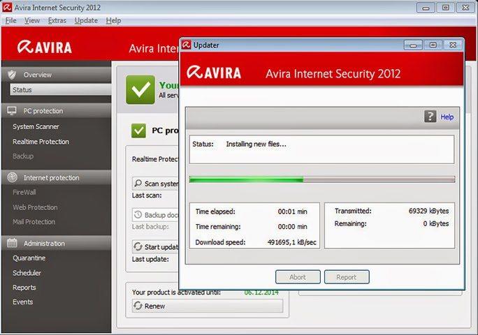 تحميل برنامج الحماية من الفيروسات افيرا 2017