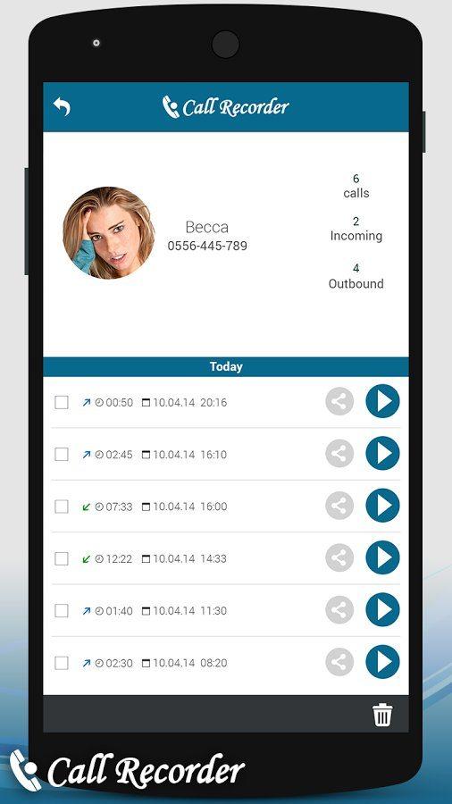 Call-Recorder-Automatic-4-1 تحميل برنامج تسجيل المكالمات تلقائياً وبجودة عالية برامج اندرويد