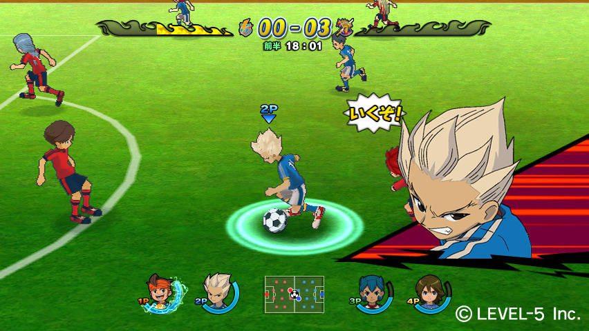 Inazuma-Eleven-Strikers تحميل لعبة أبطال الكرة - أقوى ألعاب كرة القدم 2017 / 2018 العاب اندرويد العاب كمبيوتر