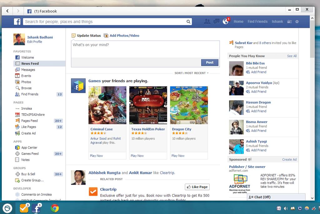 Facebook-pc تحميل برنامج فيس بوك للكمبيوتر - Download Facebook For PC برامج اندرويد تحميل برامج كمبيوتر
