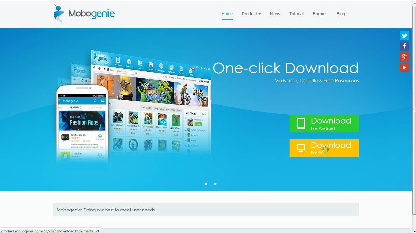 5292bd524 تحميل برنامج موبوجيني - متجر Mobogenie لتحميل التطبيقات و الالعاب مجاناً -  موقع داونلودر