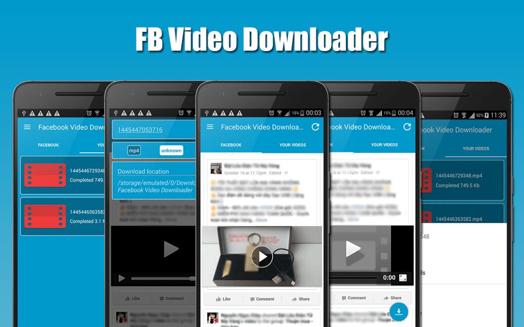 download-video-from-facebook-1024x640 طريقة تحميل فيديو من الفيس بوك للكمبيوتر و الاندرويد شروحات