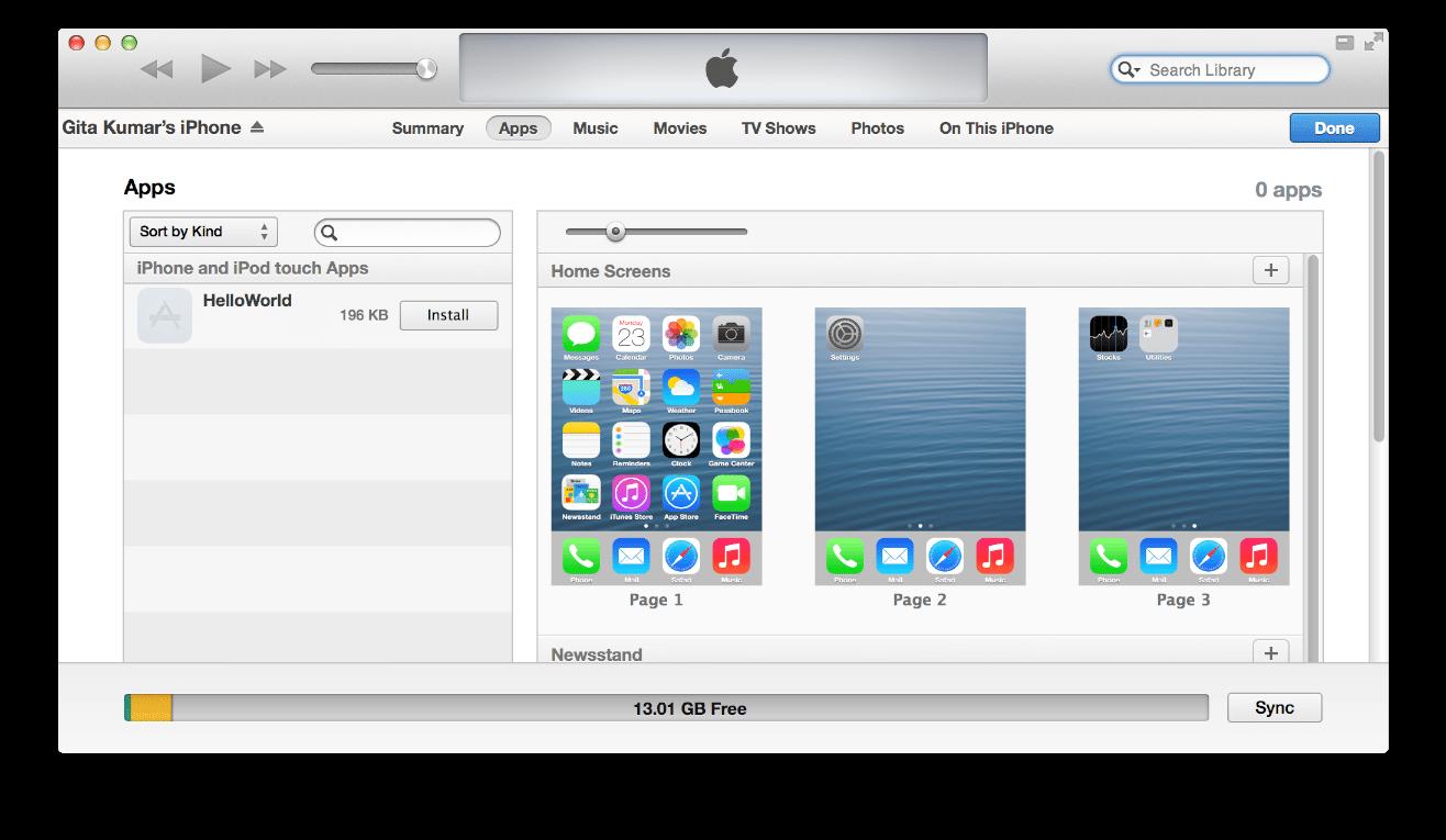Install-App-via-iTunes تحميل برنامج الايتونز iTunes آخر إصدار للكمبيوتر والآيفون مجاناً برامج كمبيوتر برامج نت