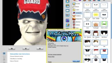تحميل برنامج webcam max