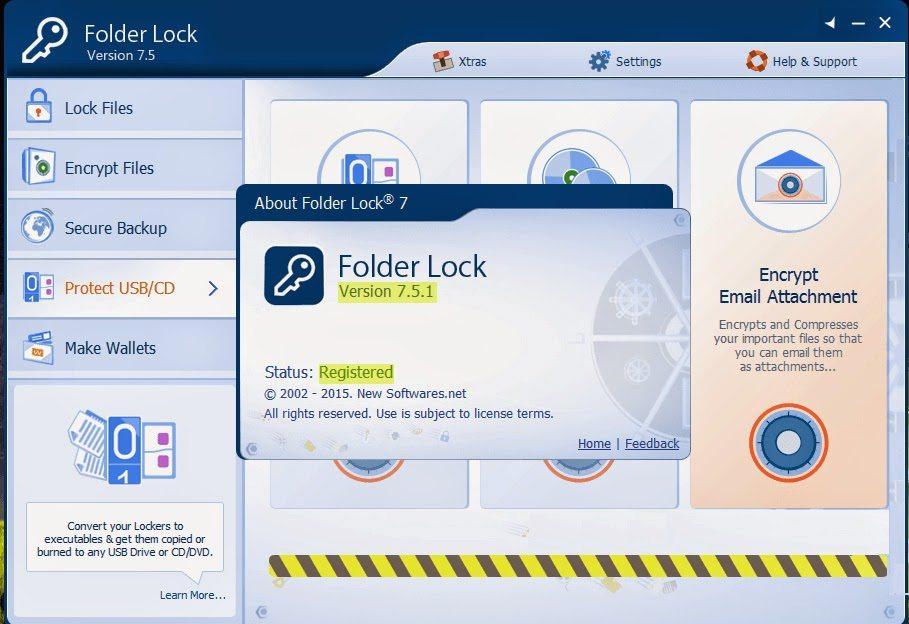 برنامج قفل الملفات مجانا