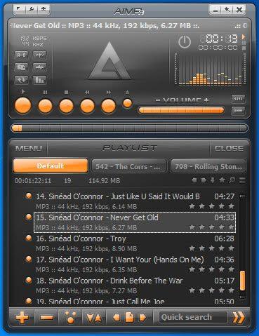 aimp3 تحميل Aimp3 برنامج تشغيل الصوتيات للكمبيوتر والموبايل مجاناً برامج اندرويد تحميل برامج كمبيوتر