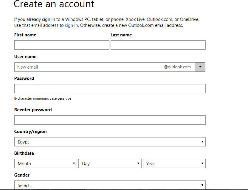hotmail كيفية انشاء ايميل هوتميل Hotmail جديد بخطوات سهلة وبسيطة مجاناً برامج نت
