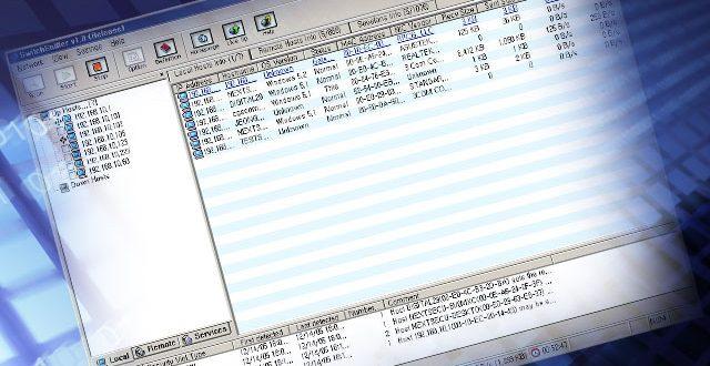 برنامج 2017 SwitchSniffer لمعرفة الاجهزة المتصلة بالشبكة والتحكم بها