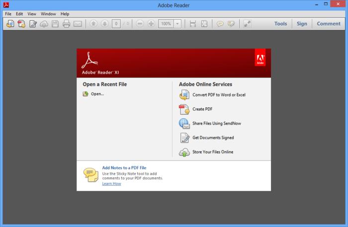2-1 تحميل برنامج Adobe Reader 2018 لقراءة و انشاء و تحرير ملفات PDF تحميل برامج كمبيوتر