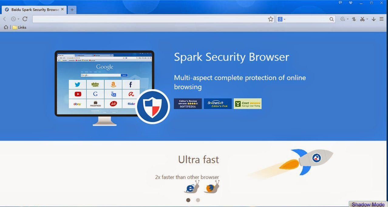 برنامج baidu spark browser 2018