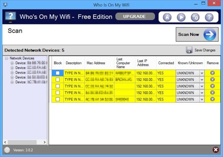 Who-Is-On-My-Wifi-2 برنامج معرفة المتصلين بشبكة الواي فاي Who Is On My Wifi برامج نت تحميل برامج كمبيوتر