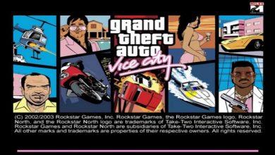لعبة جاتا 7 – GTA Vice City برابط مباشر و حجم صغير