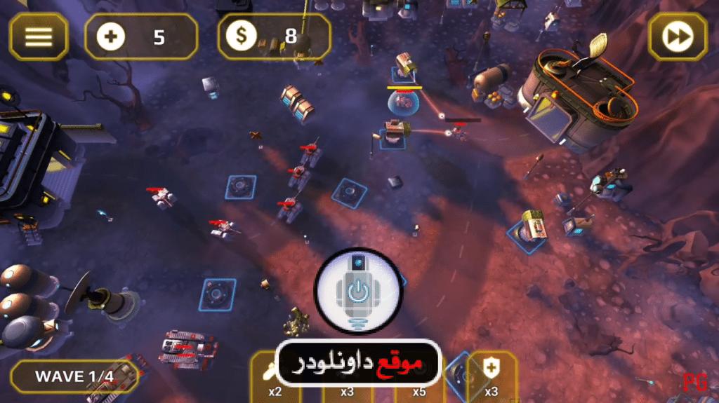 -لعبة-الحرب-الدفاعية-1024x575 تحميل لعبة الحرب الدفاعية Generals TD HD مجانا العاب اندرويد العاب ايفون