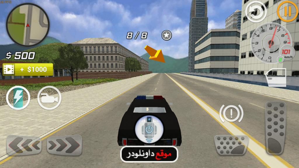 -لعبة-محاكاة-السيارات-1024x576 تحميل لعبة محاكاة السيارات City Car Driver للاندرويد العاب اندرويد العاب ايفون
