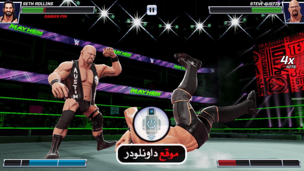 -wwe-mayhem-2-1024x576 تحميل wwe mayhem لعبة المصارعة wwe للاندرويد و للايفون مجانا العاب اندرويد العاب ايفون