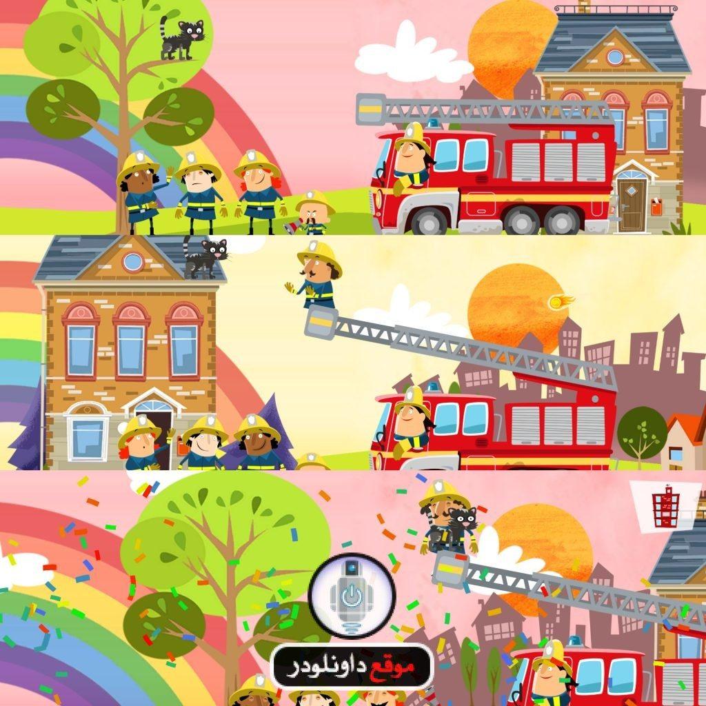 -سيارة-الاطفاء-1-1024x1024 تحميل لعبة سيارة الاطفاء الحمراء Little Fire Station برابط مباشر العاب اندرويد العاب ايفون