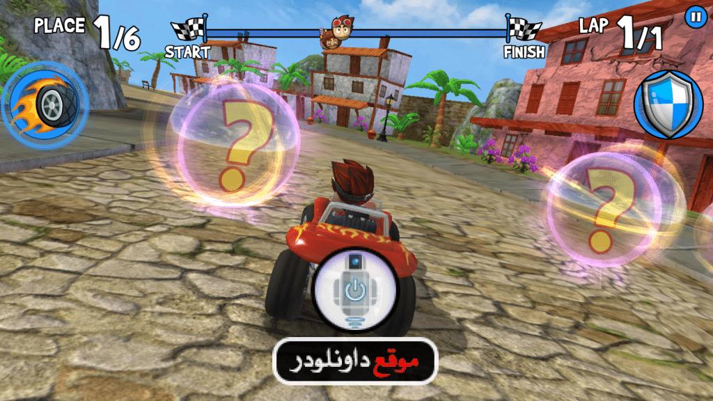 -beach-buggy-racing-1-1024x576 تحميل لعبة beach buggy racing للاندرويد مجانا العاب اندرويد العاب ايفون