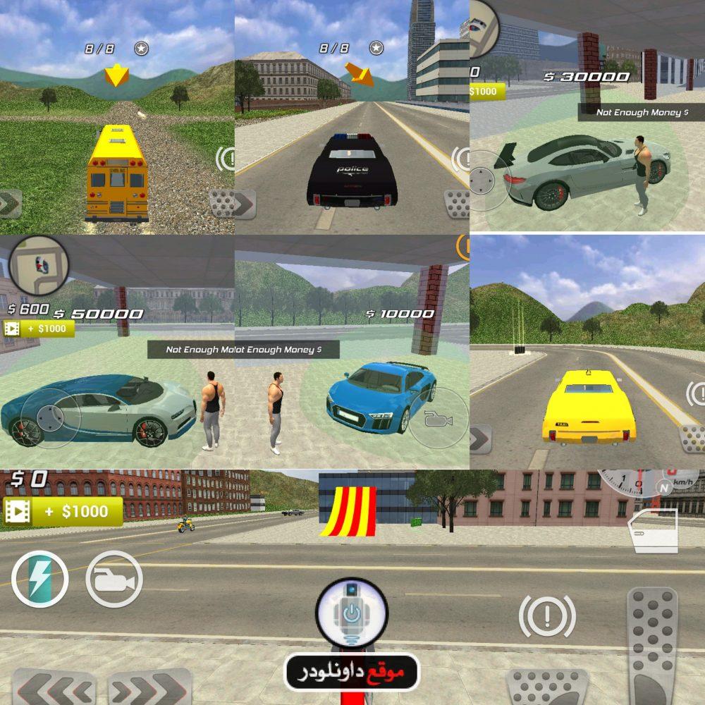 -لعبة-محاكاة-السيارات-3-e1513879096252 تحميل لعبة محاكاة السيارات City Car Driver للاندرويد العاب اندرويد العاب ايفون