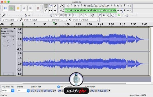 -برنامج-audacity-2 تحميل برنامج audacity مونتاج الصوت واضافة المؤثرات الصوتية تحميل برامج كمبيوتر