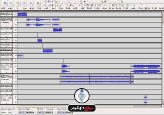 -برنامج-audacity-4 تحميل برنامج audacity مونتاج الصوت واضافة المؤثرات الصوتية تحميل برامج كمبيوتر