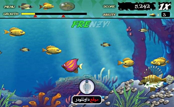 -لعبة-السمكة-1 تحميل لعبة السمكة القديمة للكمبيوتر بحجم صغير تحميل العاب كمبيوتر