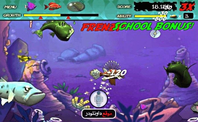 -لعبة-السمكة-3 تحميل لعبة السمكة القديمة للكمبيوتر بحجم صغير تحميل العاب كمبيوتر