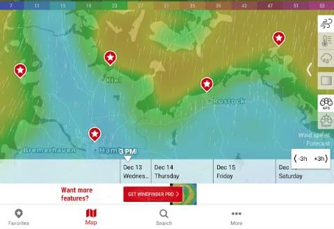 -فندر-الطور-7 تحميل تطبيق حالة الجو وند فندر - معرفة كل شئ عن الطقس برامج اندرويد تطبيقات ايفون