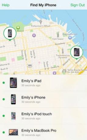 -على-الايفون-4 العثور على الايفون المفقود وكيفية تتبعه على الخريطة تطبيقات ايفون شروحات