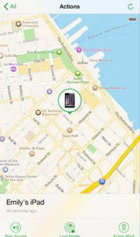 -على-الايفون-5 العثور على الايفون المفقود وكيفية تتبعه على الخريطة تطبيقات ايفون شروحات