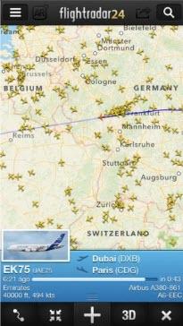 -الطائرات-3 تحميل برنامج تتبع الطائرات flight radar برامج اندرويد تطبيقات ايفون