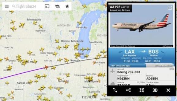 -الطائرات-4 تحميل برنامج تتبع الطائرات flight radar برامج اندرويد تطبيقات ايفون