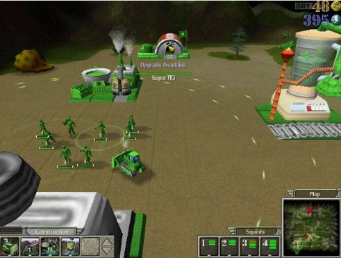 -لعبة-الجيش-الاخضر-4 تحميل لعبة الجيش الاخضر Army Men RTS تحميل العاب كمبيوتر