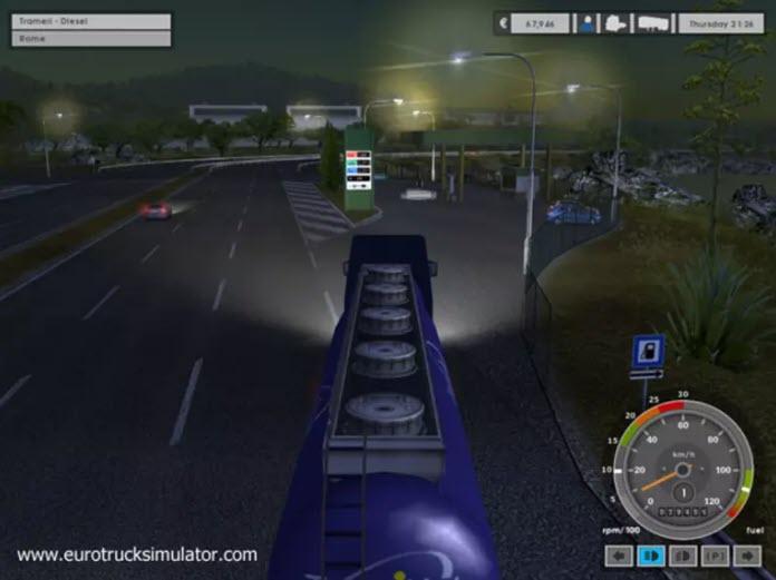 -لعبة-الشاحنات-2 تحميل لعبة الشاحنات Euro Truck Simulator للكمبيوتر مجانا تحميل العاب كمبيوتر