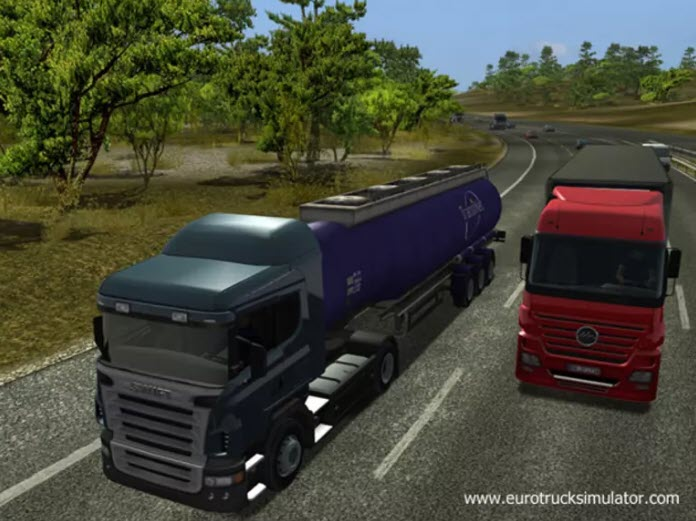 -لعبة-الشاحنات-5 تحميل لعبة الشاحنات Euro Truck Simulator للكمبيوتر مجانا تحميل العاب كمبيوتر