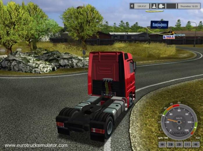 -لعبة-الشاحنات-6 تحميل لعبة الشاحنات Euro Truck Simulator للكمبيوتر مجانا تحميل العاب كمبيوتر