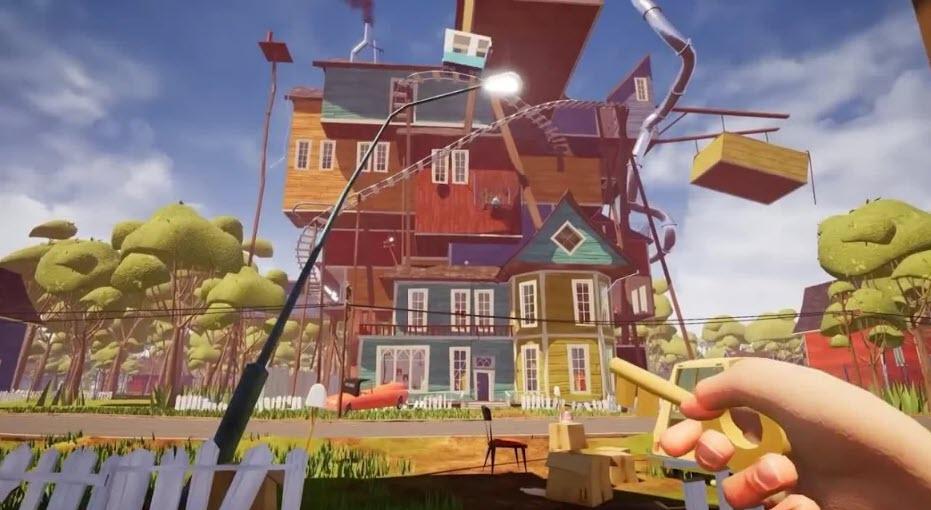 -لعبة-hello-neighbor-6 تحميل لعبة hello neighbor للاندرويد Apk العاب اندرويد