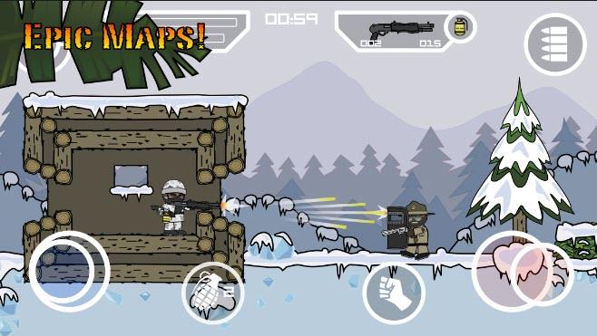 -لعبة-mini-militia-مهكرة-2 تحميل لعبة mini militia مهكرة من ميديا فاير العاب اندرويد