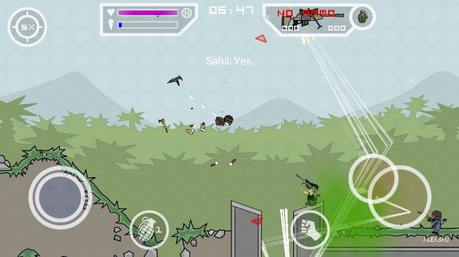 -لعبة-mini-militia-مهكرة-3 تحميل لعبة mini militia مهكرة من ميديا فاير العاب اندرويد