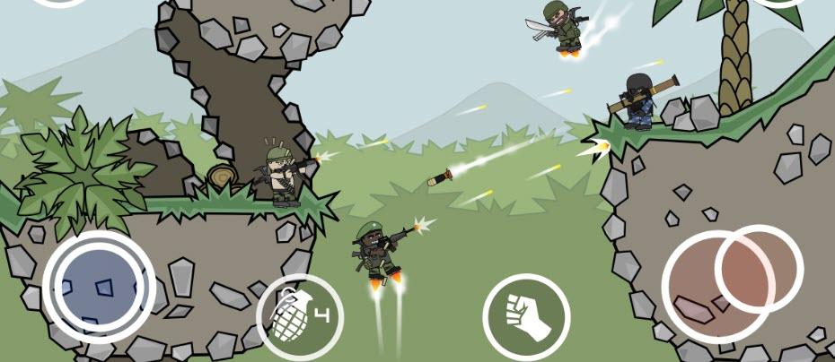 -لعبة-mini-militia-مهكرة-4 تحميل لعبة mini militia مهكرة من ميديا فاير العاب اندرويد