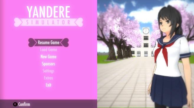 -لعبة-yandere-simulator-3 تحميل لعبة yandere simulator من ميديا فاير تحميل العاب كمبيوتر
