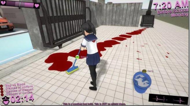 -لعبة-yandere-simulator-4 تحميل لعبة yandere simulator من ميديا فاير تحميل العاب كمبيوتر