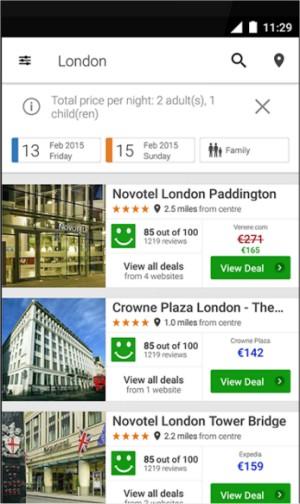 trivagoforandroid2 تحميل تطبيق تريفاجو Trivago لحجز الفنادق بأقل الأسعار برامج اندرويد